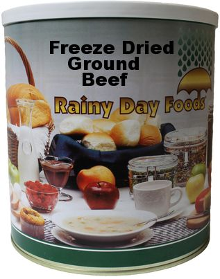 Freeze-dried Ground Beef